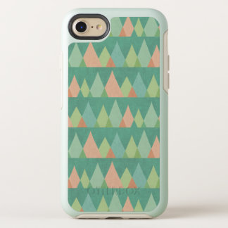Southwest Geo Step | Teal Triangle Pattern OtterBox Symmetry iPhone 8/7 Case