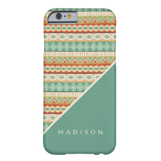 Southwest Geo Step | Watercolor Tribal Pattern Barely There iPhone 6 Case