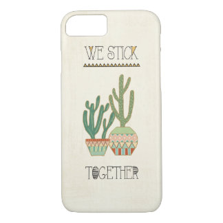 Southwest Geo VIII | We Stick Together iPhone 8/7 Case