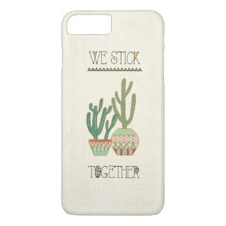 Southwest Geo VIII   We Stick Together iPhone 8 Plus/7 Plus Case