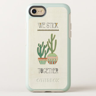Southwest Geo VIII | We Stick Together OtterBox Symmetry iPhone 8/7 Case