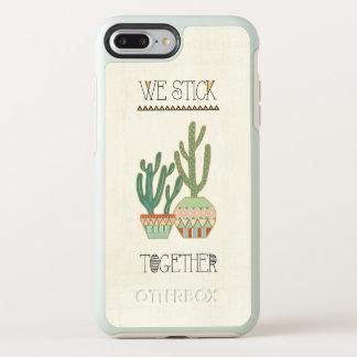 Southwest Geo VIII   We Stick Together OtterBox Symmetry iPhone 8 Plus/7 Plus Case