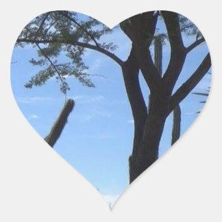 Southwest Heart Sticker