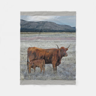 SOUTHWEST-HOME ON THE RANGE IN ARIZONA FLEECE BLANKET