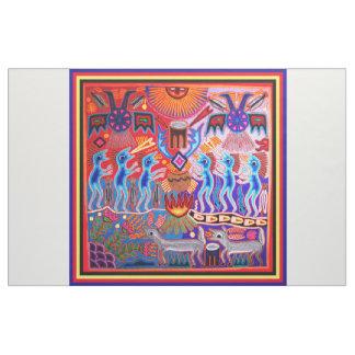 Southwest Huichol Peyote Ritual Fabric