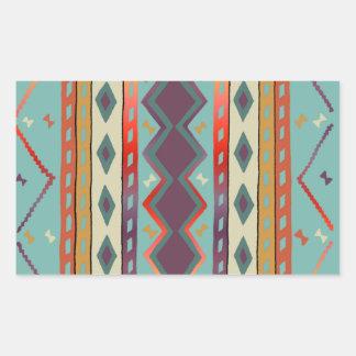 Southwest Indian Blanket Design Sticker