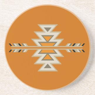 Southwest Indian Design Beverage Coasters