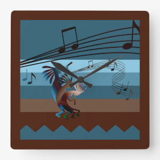 Southwest Kokopelli Music Clock