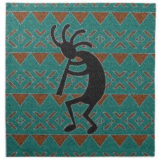 Southwest Kokopelli Tribal Design Napkin