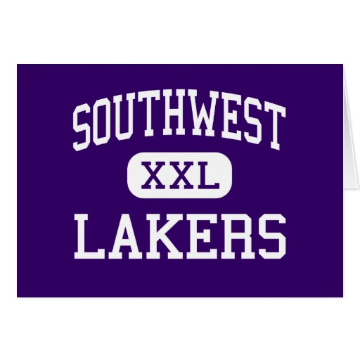 Southwest - Lakers - high - Minneapolis Minnesota Greeting Card
