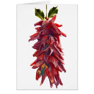 Southwest Mistletoe Card