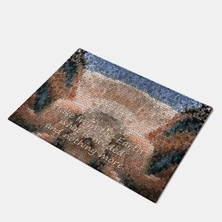 Southwest Native American Earth Door Mat