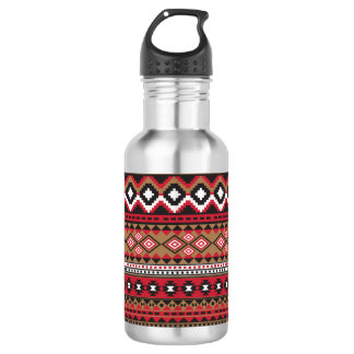 Southwest navajo aztec pattern 532 ml water bottle