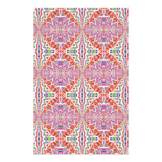 Southwest Pink and More Motif Stationery Design