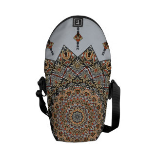 Southwest Pottery Art Mandala Zero Mini Bag Commuter Bag