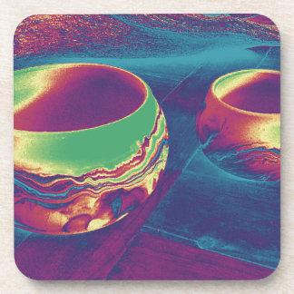 Southwest Pottery Drink Coasters