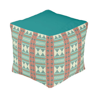 Southwest Serenity Cube Pouf