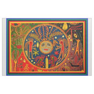 Southwest Shaman Huichol Ritual Designer Fabric