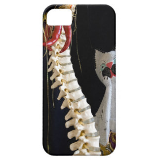 Southwest Spine Skeleton Chili Pepper Cat iPhone 5 Cover