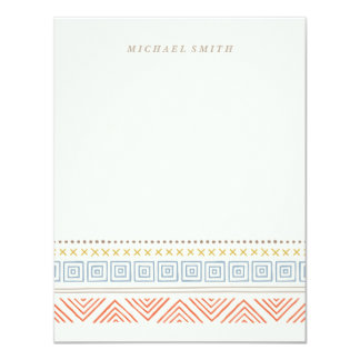 Southwest Stationery - Tangerine Card