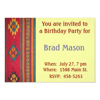 Southwest Style Invitation