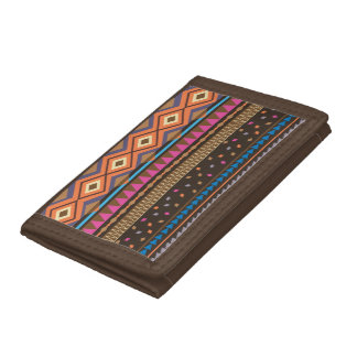 southwest style Tribal print wallet