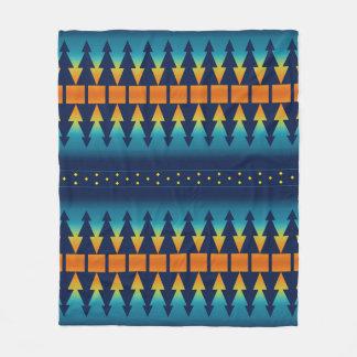 Southwest Sunset Pines Fleece Blanket