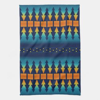 Southwest Sunset Pines Tea Towel
