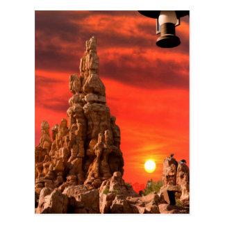 Southwest Sunset Postcard