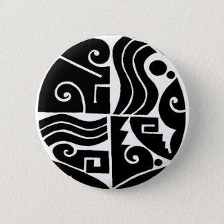 Southwest Tortuga 6 Cm Round Badge