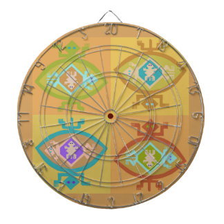 Southwest Tortuga Family Dartboard