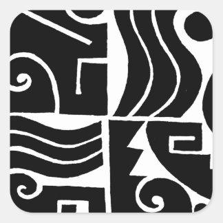 Southwest Tortuga Square Sticker