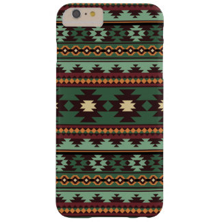Southwest tribal green brown barely there iPhone 6 plus case