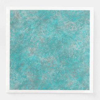 Southwest Turquoise Disposable Serviette
