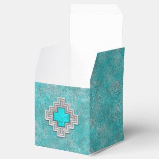Southwest Turquoise Favour Box