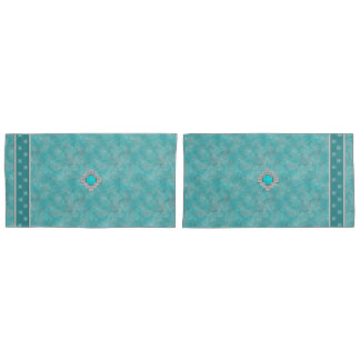 Southwest Turquoise Pillowcase