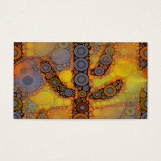 Southwestern Arizona Saguaro Cactus Mosaic Design Business Card