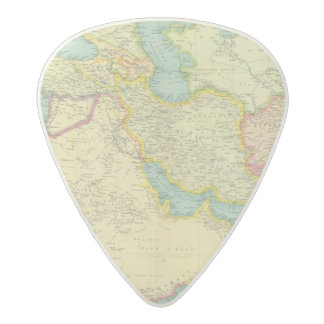 Southwestern Asia Acetal Guitar Pick