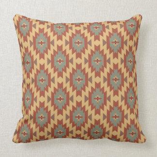 Southwestern Beauty | Aqua and Gold Cushion