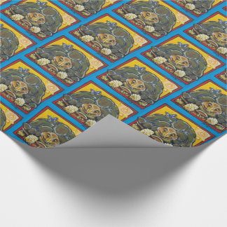 Southwestern Desert TortoiseTurtle Wrapping Paper