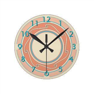 Southwestern Design Round Clock