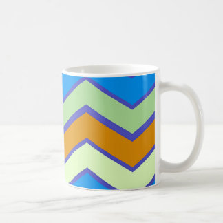 Southwestern Designer Majesty Zigzags Coffee Mug