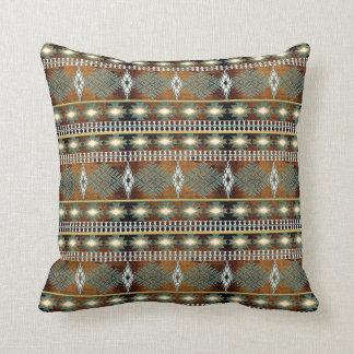 southwestern ethnic navajo pattern cushion