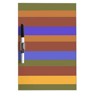 Southwestern Horizontal Stripes Dry-Erase Board