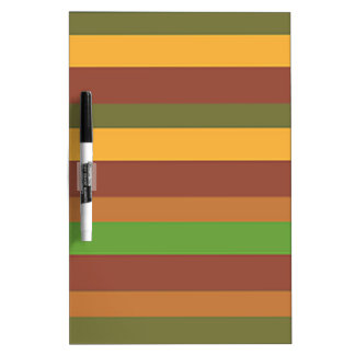 Southwestern Horizontal Stripes Dry-Erase Whiteboards