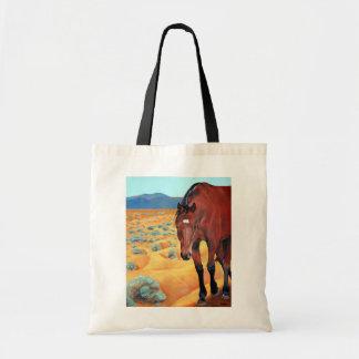 Southwestern Horse Tote Bag