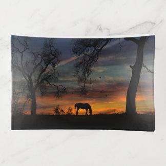 Southwestern Horse Trinket Tray