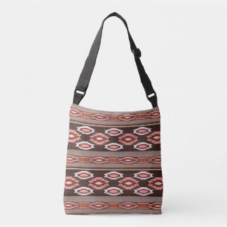 Southwestern navajo tribal pattern crossbody bag