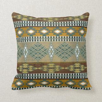 Southwestern navajo tribal pattern cushion