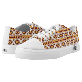 Southwestern navajo tribal pattern low tops